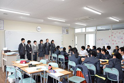 中学1年生の授業から~詩の群読発表