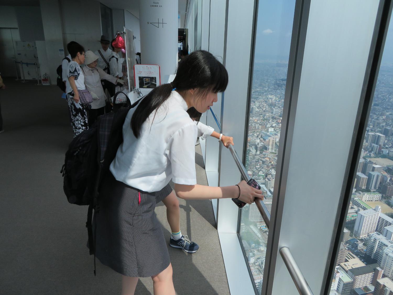 高校2年生、関西に修学旅行