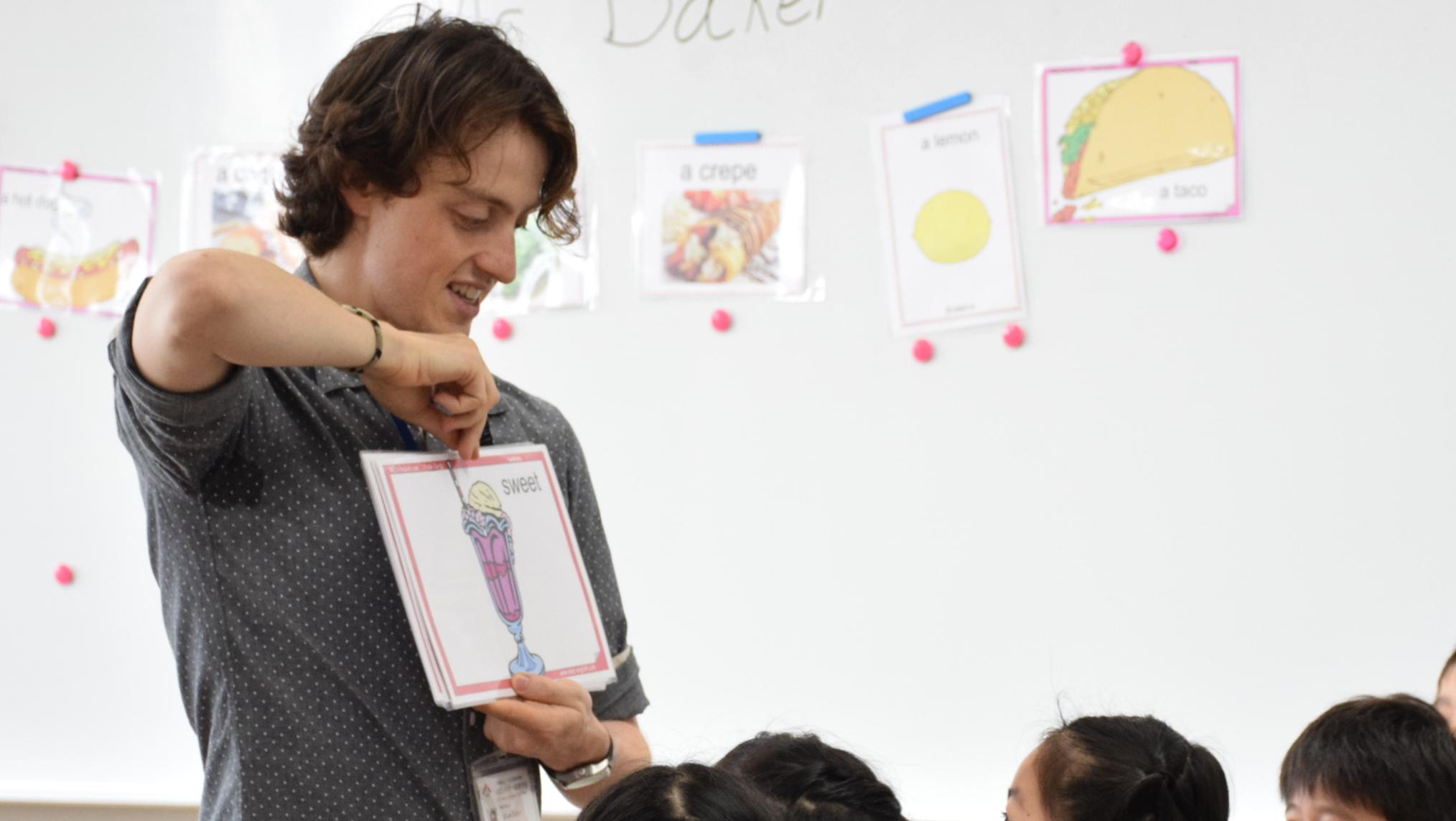 小学生対象英語教室開催