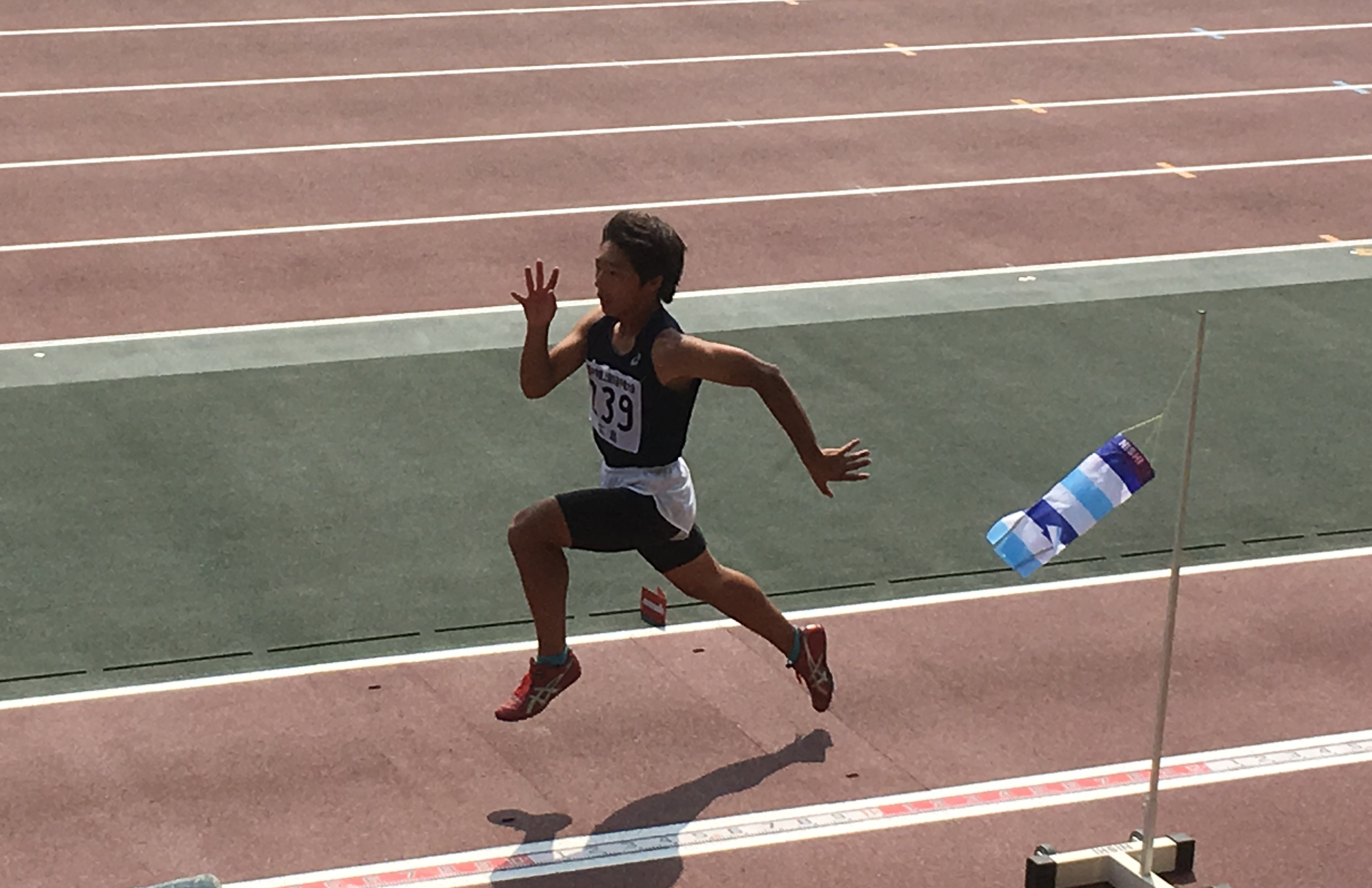 中国中学校陸上競技選手権大会参加
