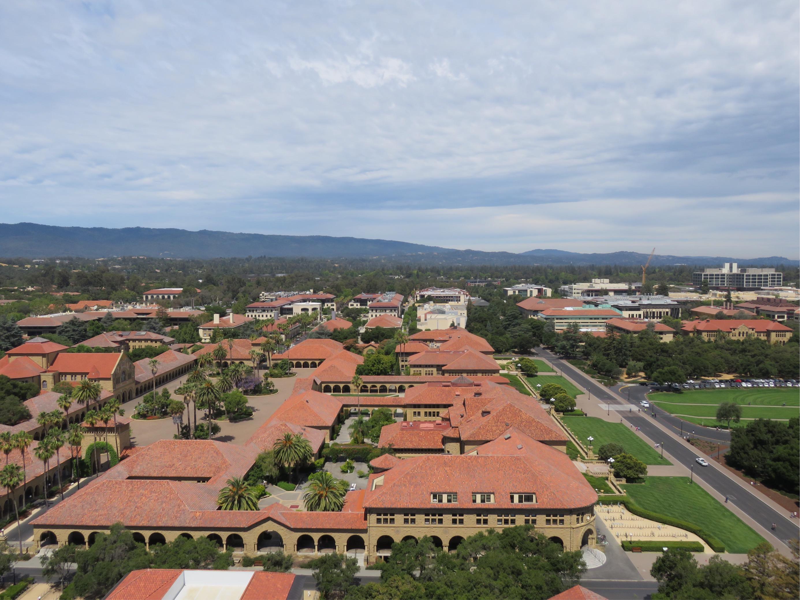 G11修学旅行USA スタンフォード大学見学