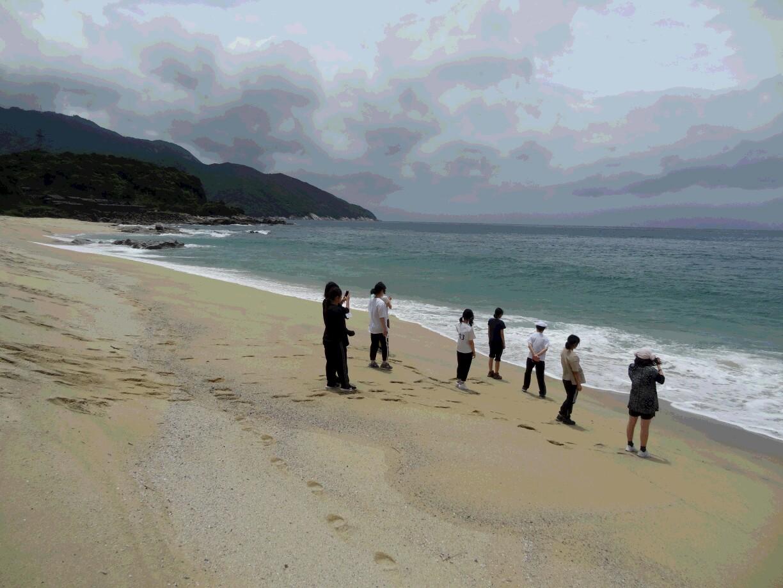 高2 修学旅行 白谷雲水峡コース