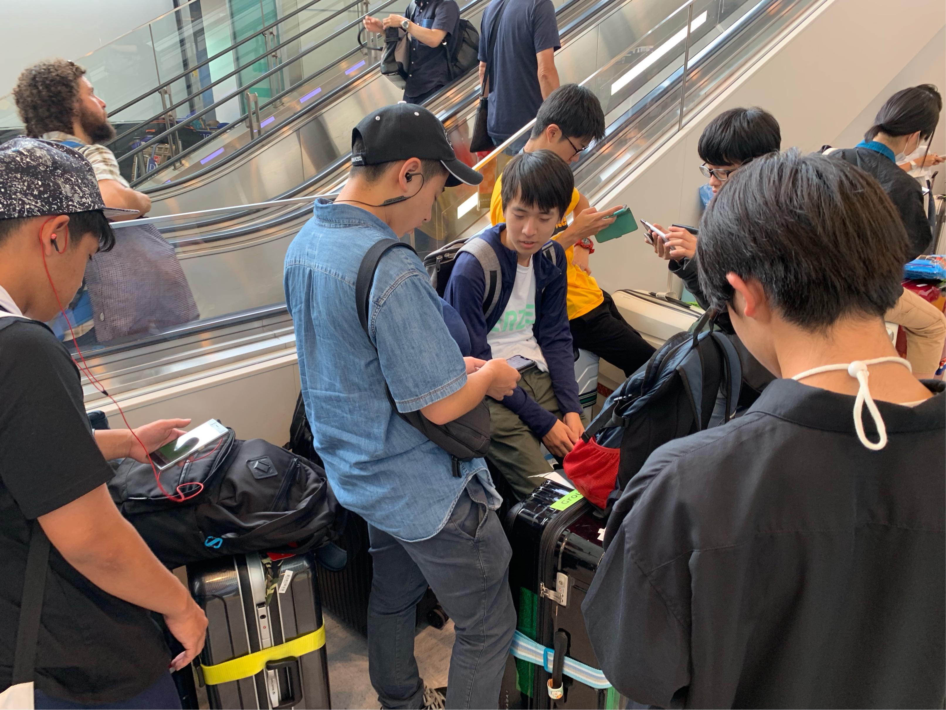 G11修学旅行USA 〜LAX→NRT:帰国!!〜